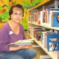 Gloria – Library Assistant
