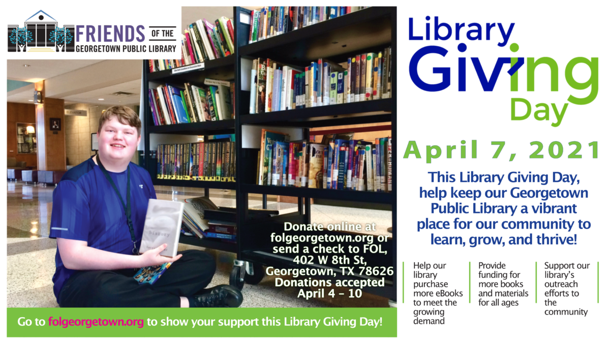 Support Library Giving Day!